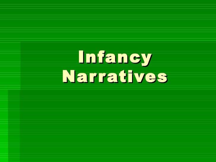 Infancy Narratives