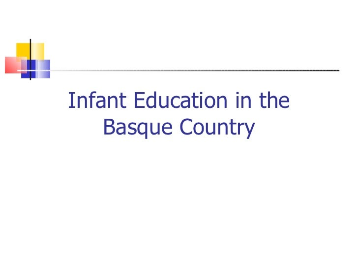 Infant education basque country