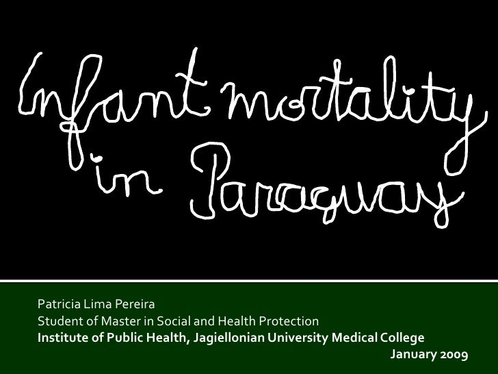 Patricia Lima Pereira Student of Master in Social and Health Protection Institute of Public HealthJagiellonian University ...