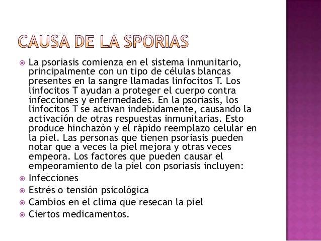 La psoriasis los métodos del contagio