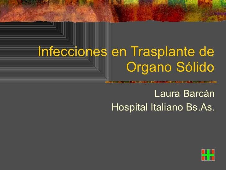 Infecciones es pacientes inmunocomprometidos