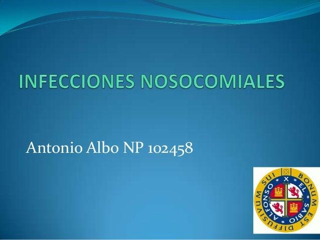 Antonio Albo NP 102458