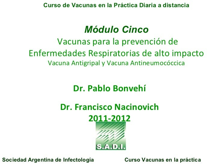 Modulo Prevención de Infecciones Respiratorias