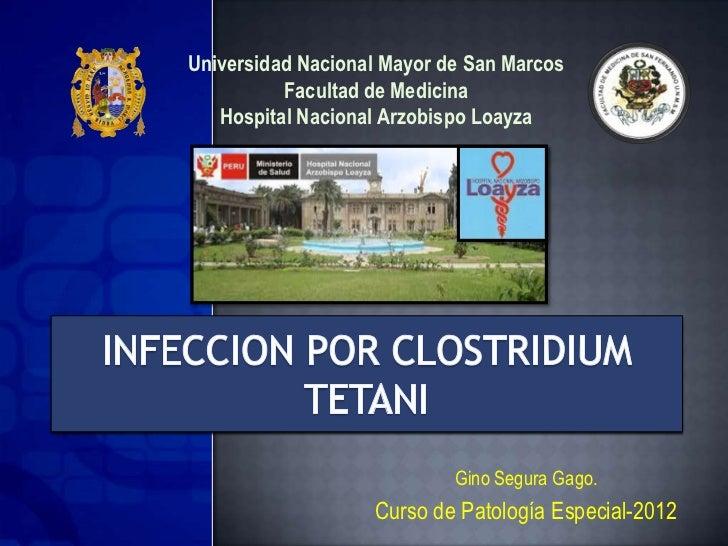 CLOSTRIDIUM TETANI - TETANOS - FISIOPATOLOGIA