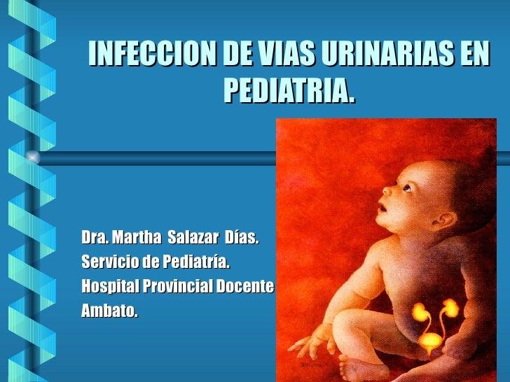 Infeccion via urinaria