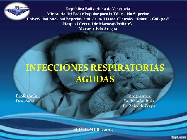 Infecciones Respiratorias Pediatricas