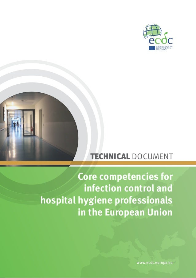 TECHNICAL DOCUMENT         Core competencies for           infection control andhospital hygiene professionals         in ...