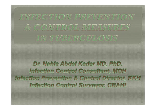 Infection Control Guidelines in Tuberculosis [compatibility mode]