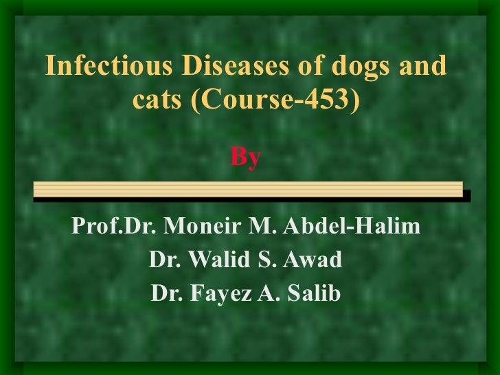 Infectious Dss Of  Pets  C D