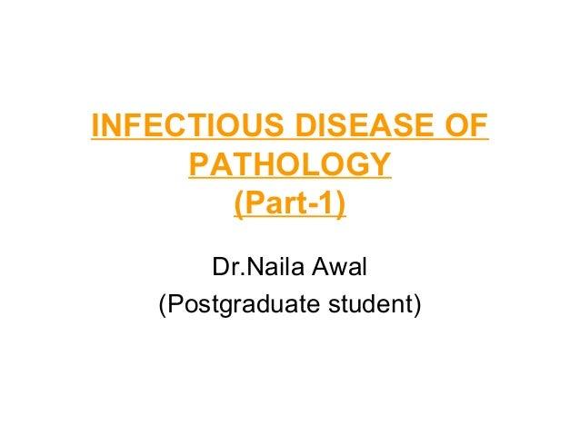 Infectious disease of pathology