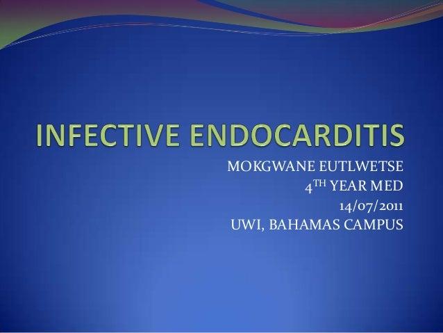 MOKGWANE EUTLWETSE4TH YEAR MED14/07/2011UWI, BAHAMAS CAMPUS