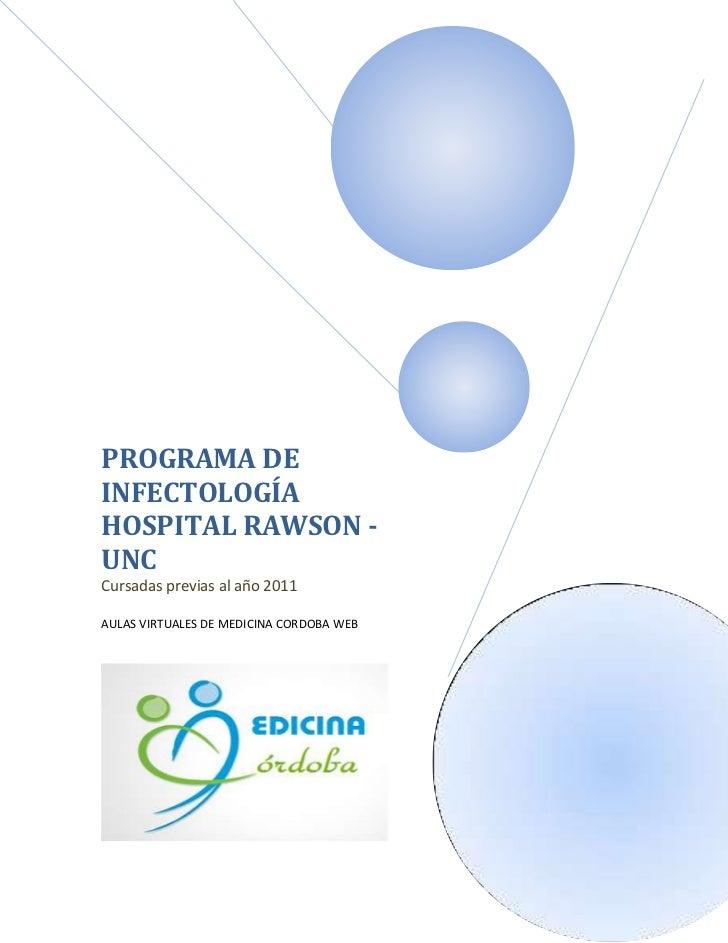 Programa Infectología Hospital Rawson, Córdoba - FCM - UNC