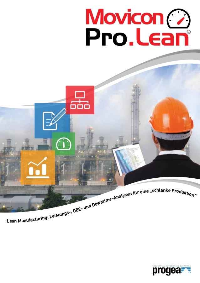 """Lean Manufacturing: Leistungs-, OEE- und Downtime-Analysen für eine """"schlanke Produktion"""""""
