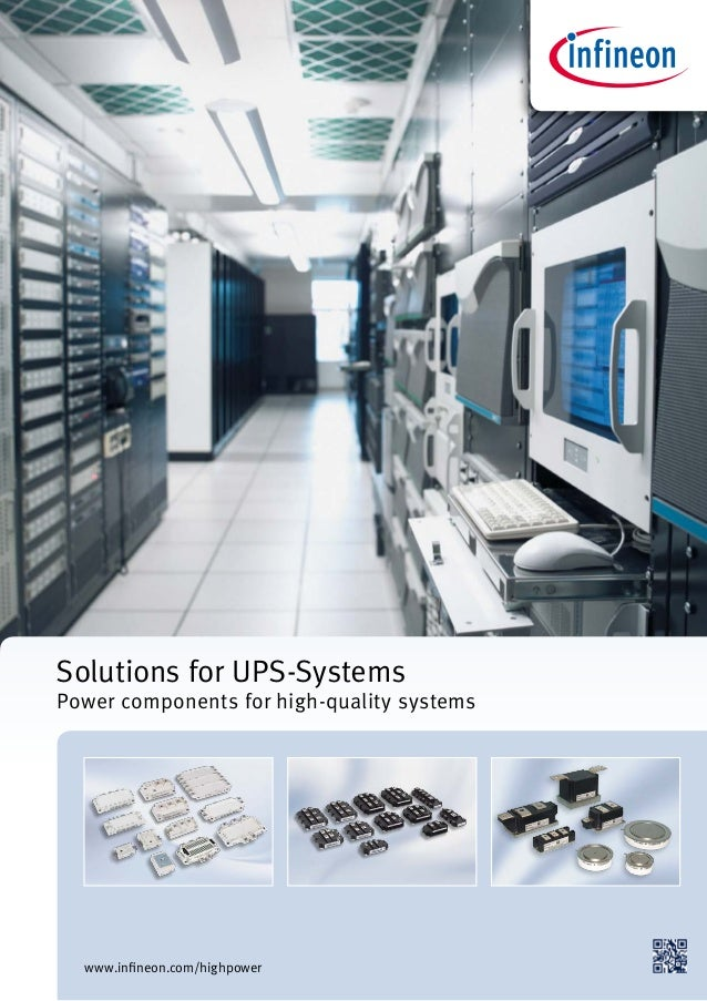 Solutions for UPS-Systems  | Infineon Technologies