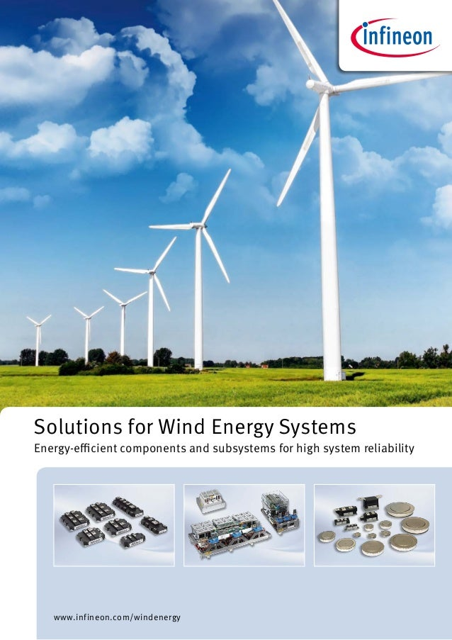 Solutions for Wind Energy Systems | Infineon Technologies