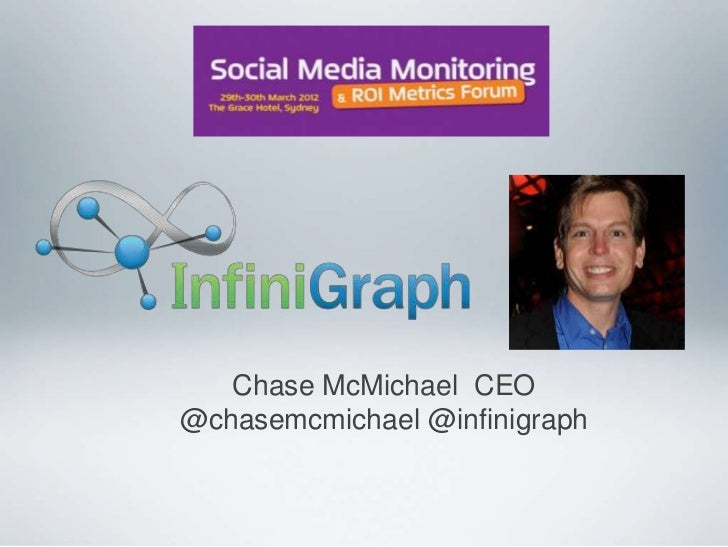 Chase McMichael CEO@chasemcmichael @infinigraph