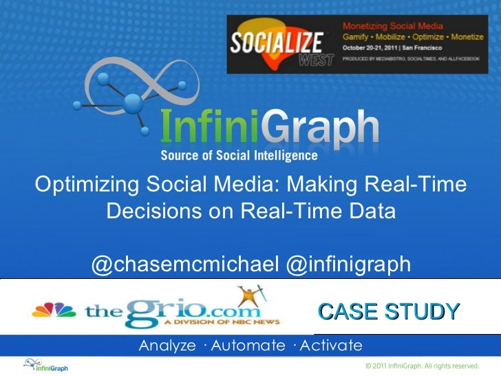 Optimizing Social Media: Making Real-Time Decisions on Real-Time Data
