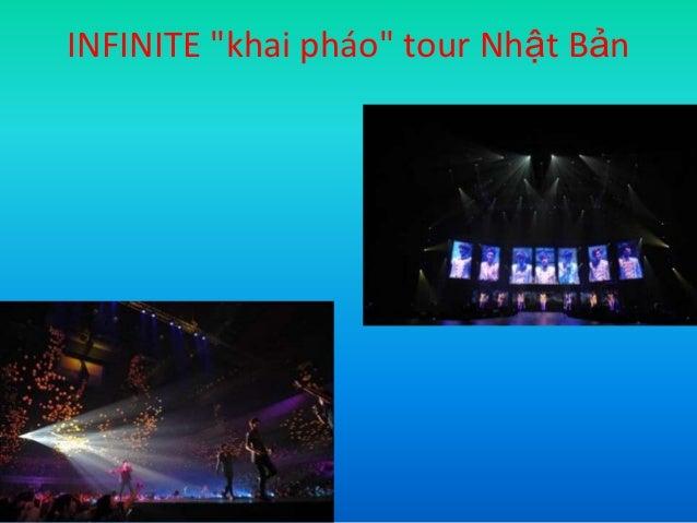 "INFINITE ""khai pháo"" tour Nhật Bản"