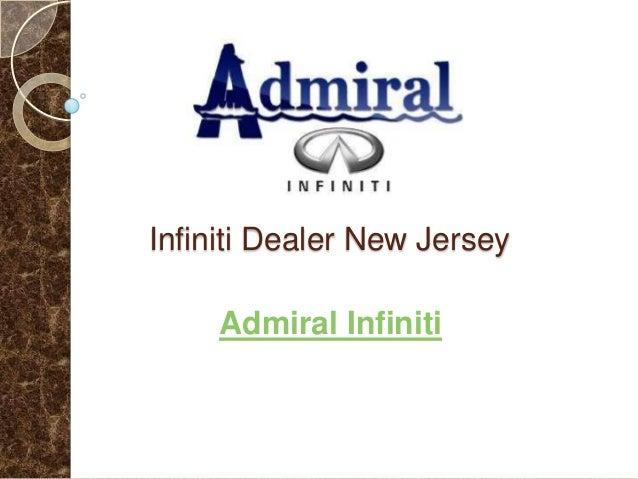 Infiniti Dealer New Jersey