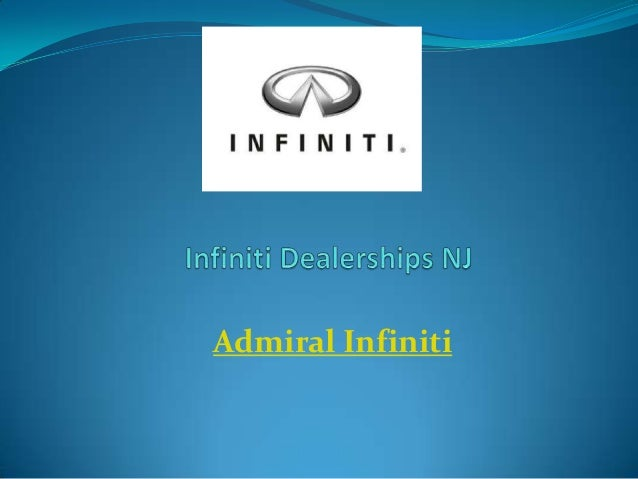 Infiniti Dealerships NJ