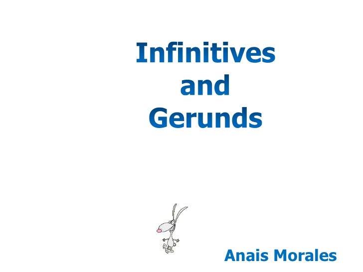 Infinitives and gerunds2