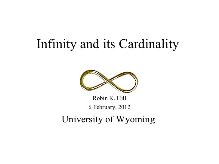 Infinity and Cardinality