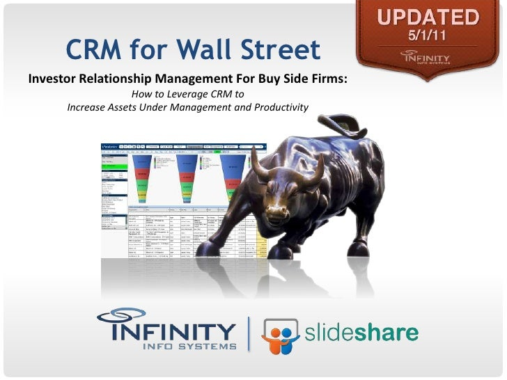 CRM for Wall Street [UPDATED 2011]