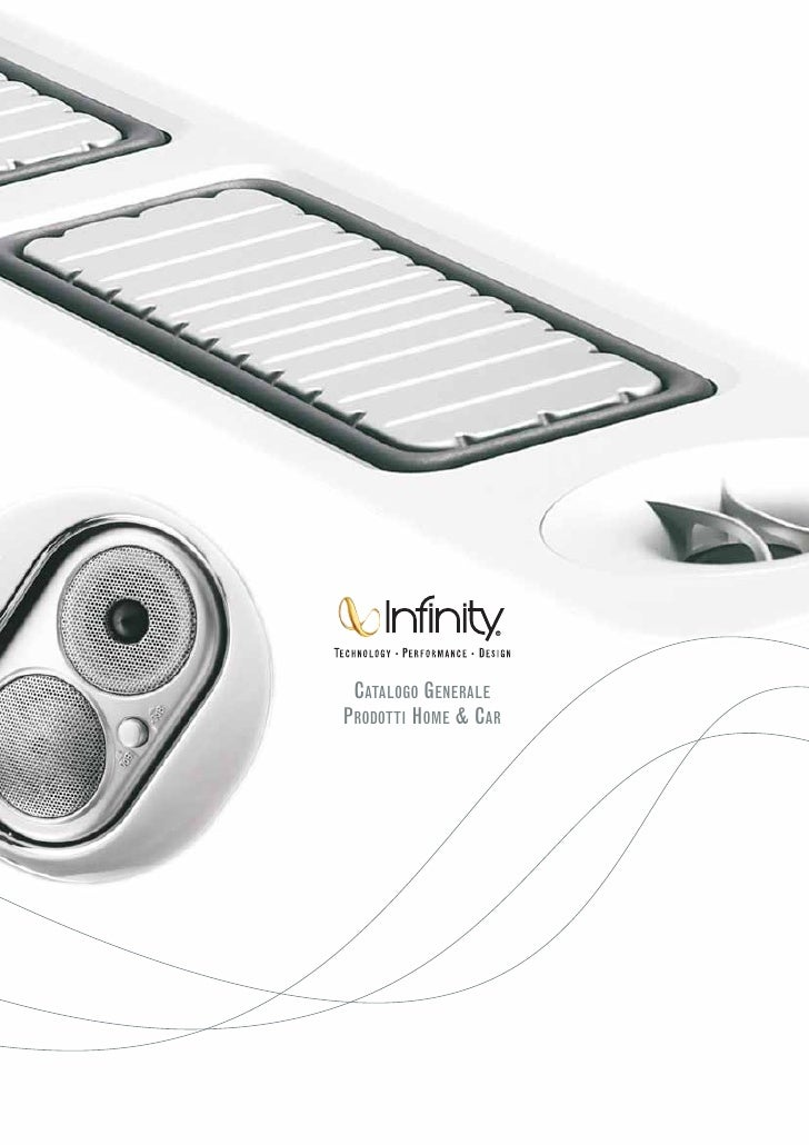 Infinity: Catalogo Prodotti Home & Car 2009