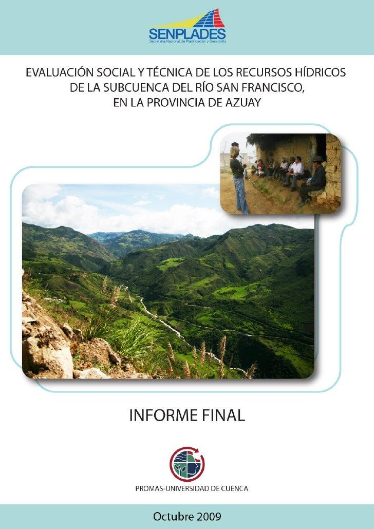 PROMAS-UNIVERSIDAD DE CUENCA                                                                             Informe del Inven...