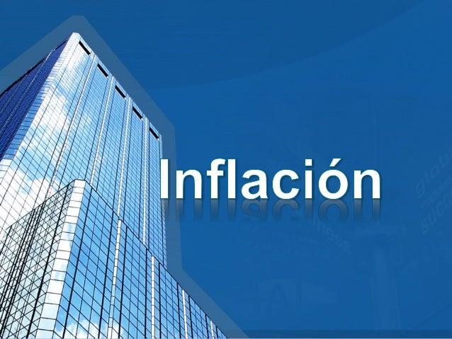 • Tasa de inflación: Es el porcentaje de cambio en el índice de precios con respecto a un periodo anterior. • Índice de Pr...