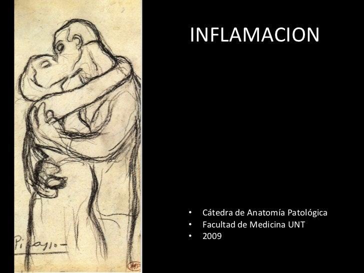 INFLAMACION <ul><li>Cátedra de Anatomía Patológica </li></ul><ul><li>Facultad de Medicina UNT </li></ul><ul><li>2009 </li>...