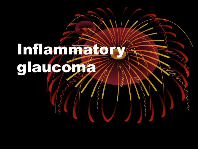 Inflammatory glaucoma