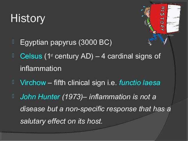 4 cardinal signs inflammation