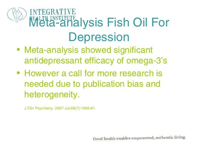 Inflammation anxiety and depression for Fish oil and depression
