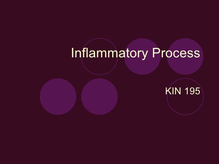 Inflammatory Process KIN 195
