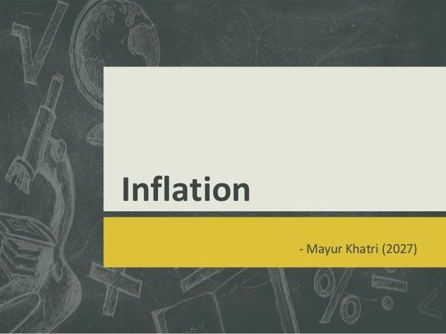 Inflation - Mayur Khatri (2027)