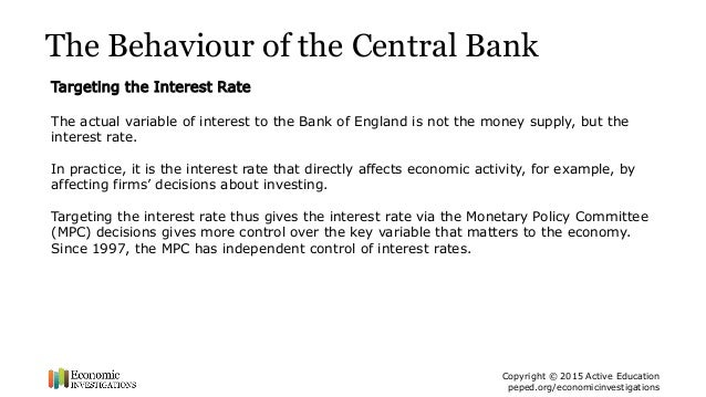 bank of england monetary policy affecting inflation rates The monetary policy committee (mpc) reaches its 7th anniversary in may this  year  interest rates required to achieve the uk government's target for inflation  are  consumer prices index (cpi) and set a target for the annual rate of  increase.