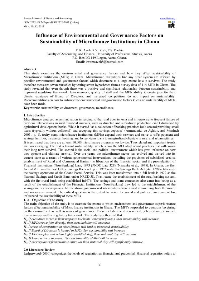 Research Journal of Finance and Accounting ISSN 2222-1697 (Paper) ISSN 2222-2847 (Online) Vol.4, No.12, 2013  www.iiste.or...