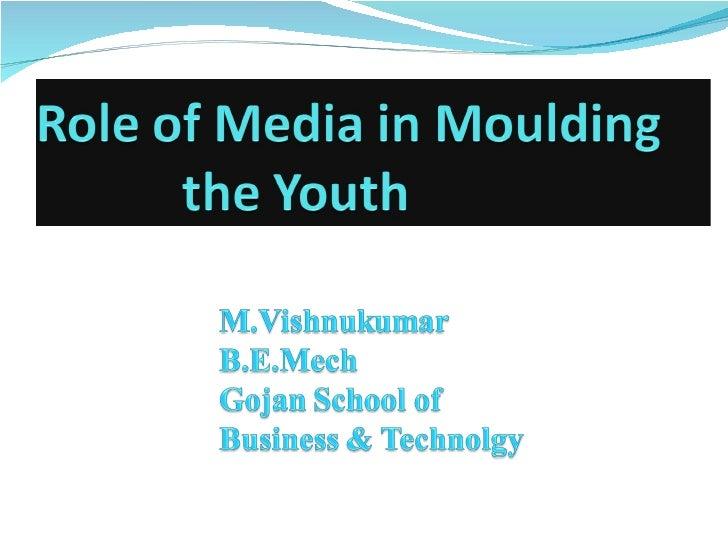 essay on influence of electronic media on youth
