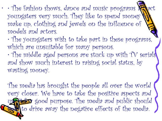 essay on effects of tv serials