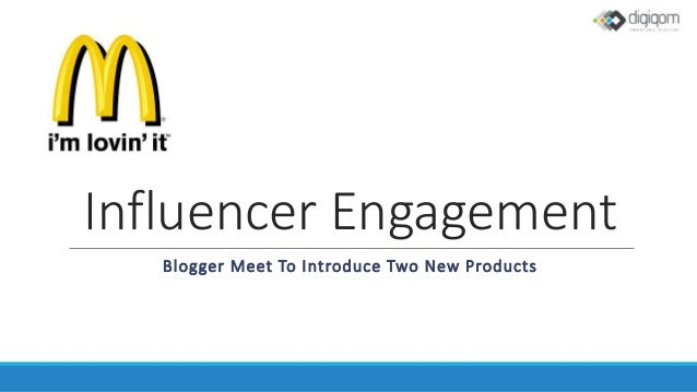 Influencer Engagement Blogger Meet To Introduce Two New Products