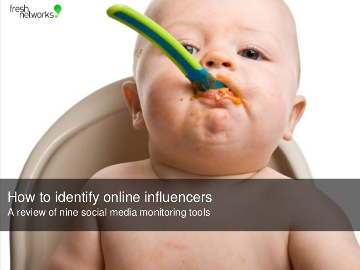 How to identify online influencers