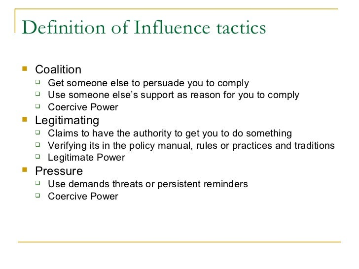 power influence and politics Power, politics, and influence fundamentals of organizational behavior 2e andrew j dubrin powerpoint presentation by rogelio r corpuz mme chapter 11.