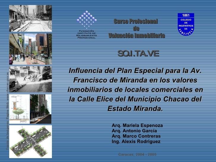 Arq. Mariela Espenoza Arq. Antonio García Arq. Marco Contreras Ing. Alexis Rodriguez Curso Profesional  de Valuación Inmob...