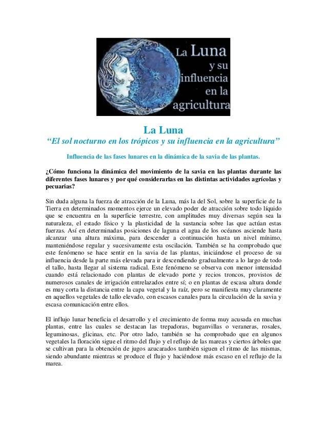 Influencia de las Fases Lunares - Jairo Restrepo Rivera