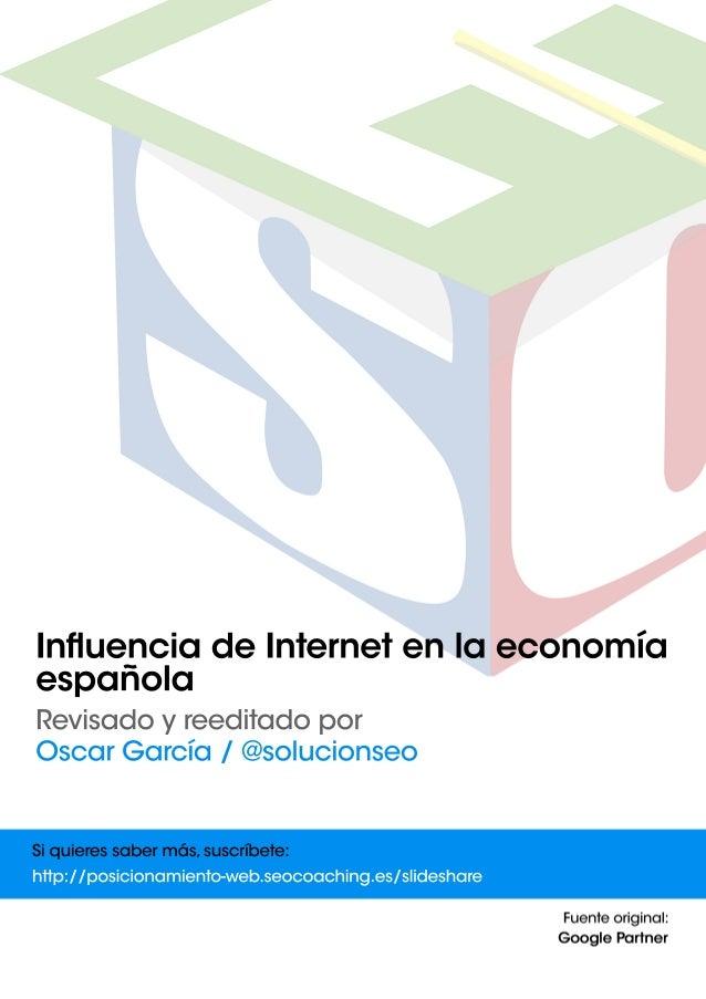 Influencia de Internet en la economia española   pymes