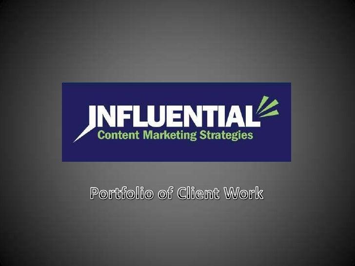Influential Strategies Portfolio