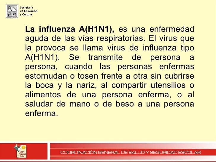 Influenza A H1N1 2009 Sonora, MéXico