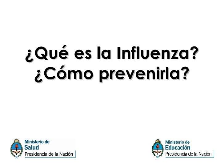 Influenza A N1H1