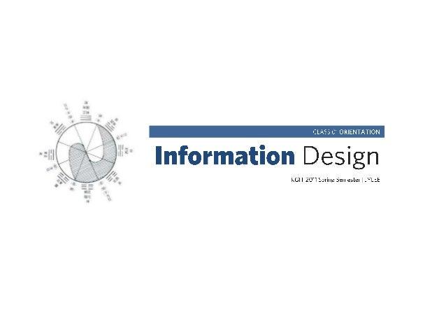 KGIT 2011 Spring Semester | JYLEE                                   2013년도 1학기 강의계획서 교과목명         정보디자인교과목 구분        전공(기초...